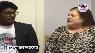 ইংলিশ  মহিলা বাংলা মাথিন | English British Lady speaking  Sylheti.