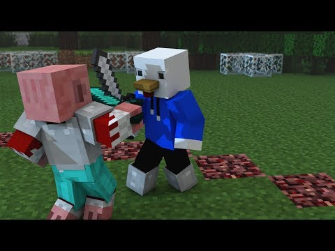 Dejando Atrás mis Miedos Animación Minecraft ♪ Parodia Wrecking Ball Music Video