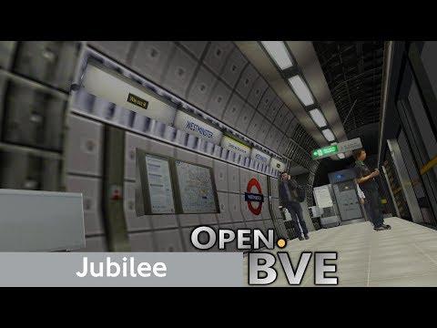 Playing Open.BVE #5 - Jubilee Line (1996 Stock): Baker Street to Bermondsey