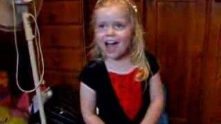 "3 Year Old Child Sings Fergie ""Big Girls Don't Cry"" Jaimee"