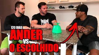 LEG DAY 120 DIAS   TREINO DE PERNAS ANDER E O ESCOLHIDO
