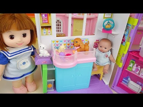 Xxx Mp4 Baby Doll And Pet Animal Care House Toys Play 3gp Sex