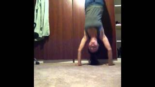 Handstand Pushup attempt #1