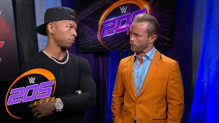 Lio Rush is not happy about his rematch with Akira Tozawa: 205 Live Exclusive, Aug. 7, 2018