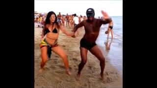 اقوى فيديو رقص عالمى على الشاطئ