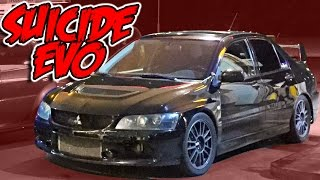 Street Racing Taxi - The SUICIDE EVO!