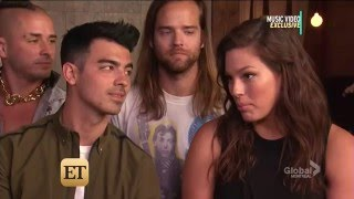 Joe Jonas interview 2016 with Ashley Graham / DCNE & ET