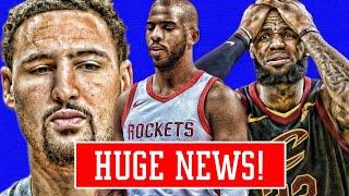 CHRIS PAUL STOPPING LEBRON TO HOUSTON! CAVS PLAYER IS SABOTAGING THEM! KLAYS SACRIFICE! | NBA NEWS