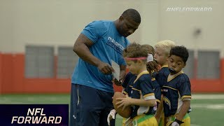 LT & Other NFL Stars Coach Flag & Youth Football