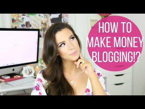 How I Make Money Blogging! | hayleypaige
