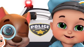 Police Chase Cars - Bad Boy bank Robbery Los Angeles - Car toys videos,  Surprise eggs by jugnu kids