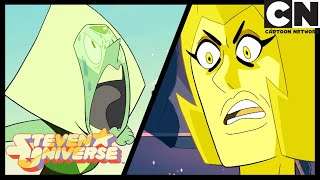 Steven Universe | Peridot Calls Yellow Diamond a Clod | Message Received | Cartoon Network