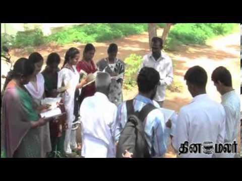 Walking Librarian at Madurai - Dinamalar Nov 8th 2013 Tamil Video News