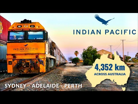 The INDIAN PACIFIC Australia s Greatest Train Sydney to Perth Full Trip Video
