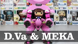 Overwatch D.Va with MEKA Funko Pop Unboxing