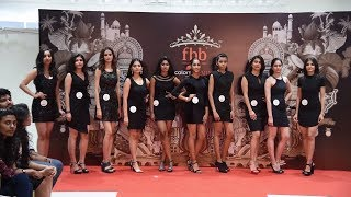 Unveiling Of fbb Colors Femina Miss India 2018 Tamil Nadu finalists