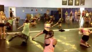 Ke$ha Crazy Kids Choreo 1