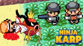 "Pokemon parody - ""Adventures Of The NinjaKarp"""