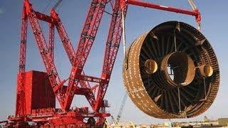 The World's Biggest Super Cranes
