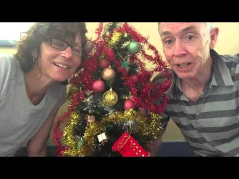 Xmas message for India from Grandma and Grandpa