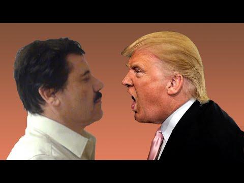 El Chapo Amenaza a Donald Trump