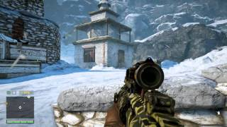 Far Cry 4 - Death From Above: Kill Yuma's Lietenant With Knife Mission (Take Picture) Gameplay PS4