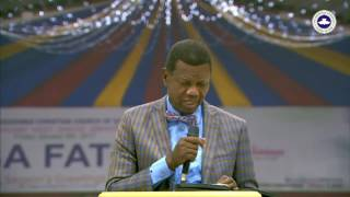 PASTOR E.A ADEBOYE SERMON CROSSOVER NIGHT 2016 - HOLY COMMUNION