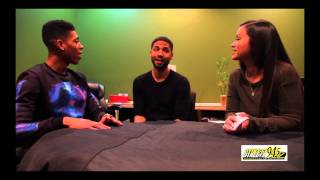 Streetz 94.5's Exclusive Interview with Jussie & Yaz from FOX HIT TV SHOW, EMPIRE