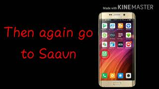 How to convert Saavn songs (Mp4) to music player (mp3) in detail
