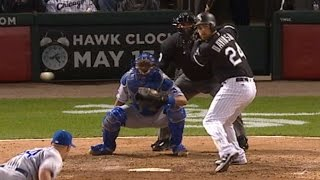 4/24/16: Gonzalez leads White Sox to a 12-1 victory