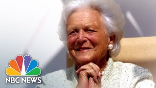 Funeral For Former First Lady Barbara Bush | NBC News