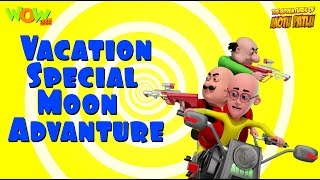 Motu Patlu Vacation Special - Moon Adventure -As seen on Nickelodeon