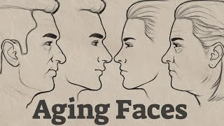How to Draw Aging Faces | 30 Years into the Future!