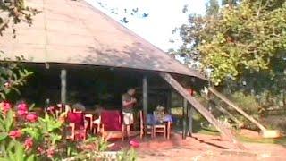 Bushara island of Bunyonyi lake. Songs and dances of Bakiga.