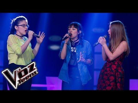 Nikki, Anamaría y Angie cantan 'Bohemian Rhapsody'   Batallas   La Voz Teens Colombia 2016