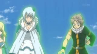 Lucy summons her Celestial Spirits