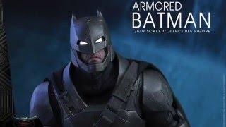 Batman V Superman Dawn Of Justice Hot Toys Armored Batman 1/6 Scale Movie Figure Pics & Details!