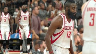 NBA 2K17 Play Now - Rockets! James Harden Poster! PS4 Pro 4K