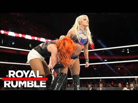 Six-Woman Tag Team Match: Royal Rumble 2017 Kickoff