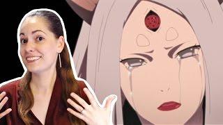 NARUTO episode 459 REVIEW: CREEPY KAGUYA VS TEAM 7!!!!
