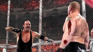 Undertaker Vs Brock Lesnar - Bloodiest Match   HD
