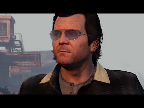 Xxx Mp4 Uncle Trevor Loves That Michael Is Trying To Find Tracey GTA V 3gp Sex