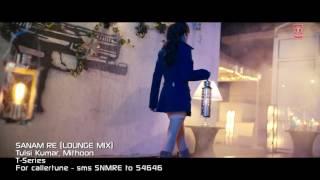 SANAM RE ( LOUNGE MIX) | Saman Re Movie Song | Tulsi Kumar, Mithoon | Divya Khosla Kumar | T-Series