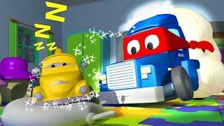 Carl the Super Truck is the SANDMAN in Car City   Trucks Cartoon for kids