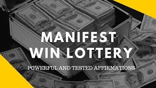"MOST POWERFUL AFFIRMATION:  THAT WIN YOU THE JACKPOT LOTTERY (100% TESTED) ""Millionaire Mindset"""