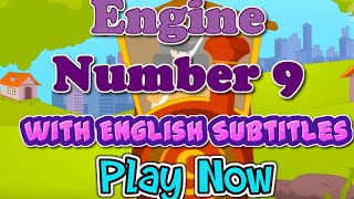 Engine Number 9 with English Subtitles - Nursery Rhymes & Songs in HD