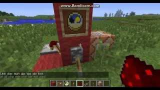 Hướng dẫn làm cỗ máy thời gian trong minecraft