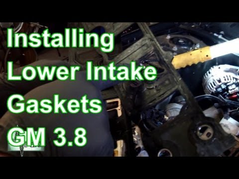 How To Replace Lower Intake Gaskets GM 3.8 V6
