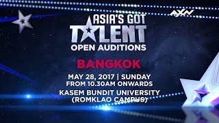 Open Audition in Bangkok | Asia