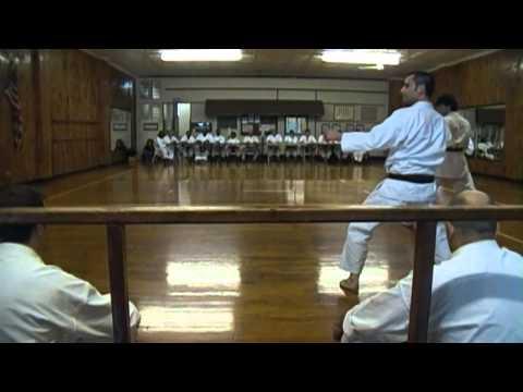 Shotokan Black Belt Test Kihon and Kata